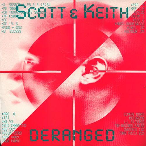 Scott Keith Deranged Deranged Record Sleeves Keith