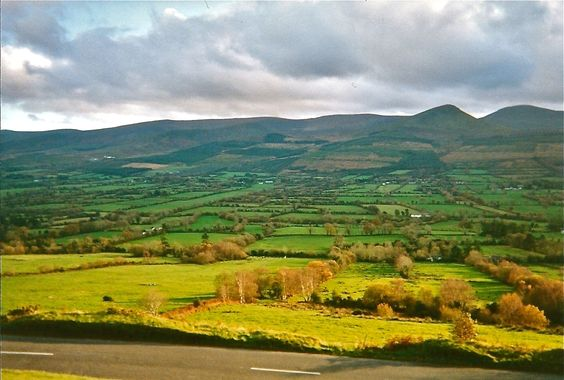On the way to County Cork - Ireland