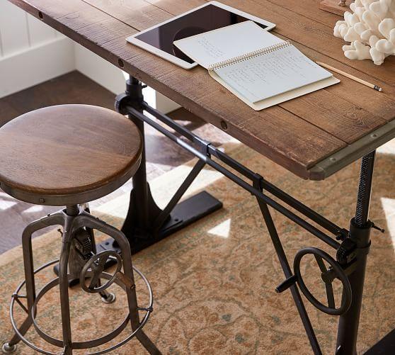 Pittsburgh Adjustable Height Barstool Adjustable Height Desk