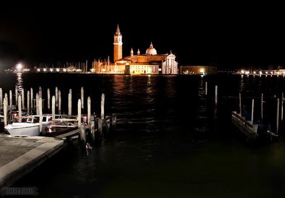 From the Venice After Dark photo series via Beers & Beans