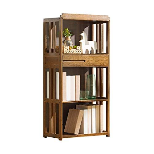 Jiaz Shelf Bookcases Bookcase Floor Rack 3 Layer Flower Stand Living Room Storage Rack Living Room Cor Bookcase With Drawers Living Room Corner Wooden Bookcase