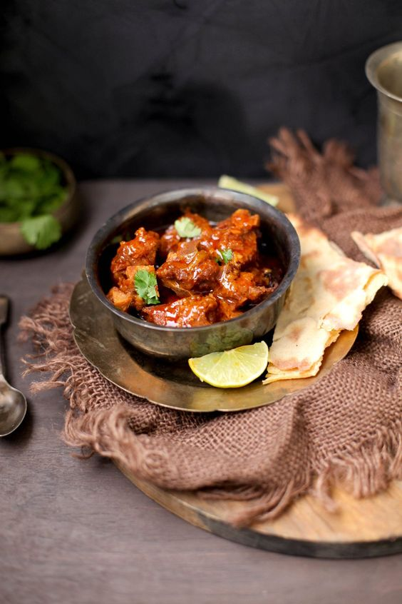 SinfullySpicy - Laal Maas, Rajasthani Red Mutton Curry001