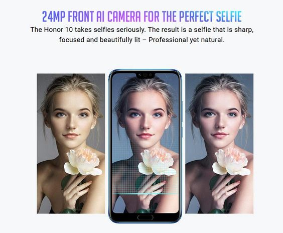 Huawei Honor 10 Global Version 5.84 inch 4GB RAM 128GB ROM Kirin 970 Octa core 4G Smartphone