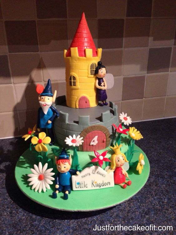 Ben And Hollys Little Kingdom Cake cakepins.com | Birthday ...  Ben And Hollys ...