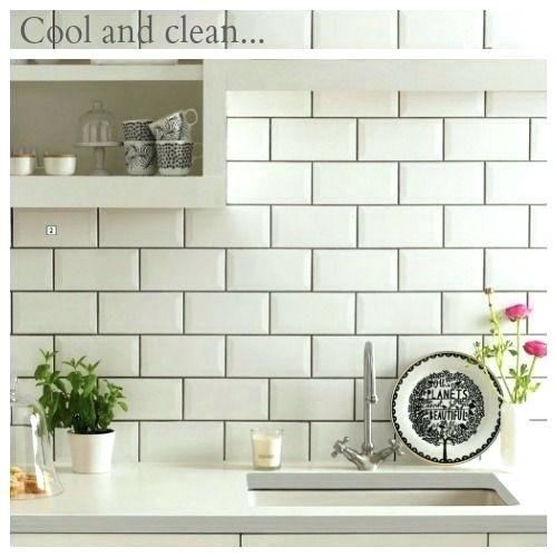 Unique White Subway Tile With Grey Grout Figures Beautiful White Subway Tile With Grey Grout For Brick Tiles Kitchen White Kitchen Tiles Kitchen Tiles Design