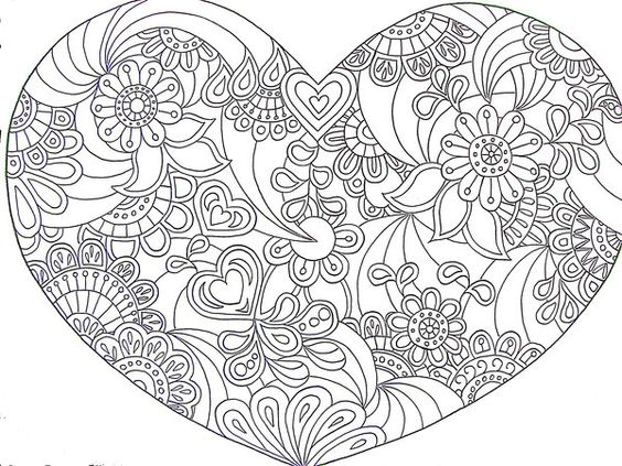 paisley coloring pages peace - photo#13