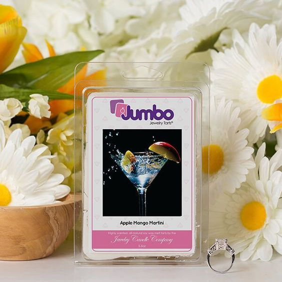 Apple Mango Martini Jumbo Jewelry Tarts