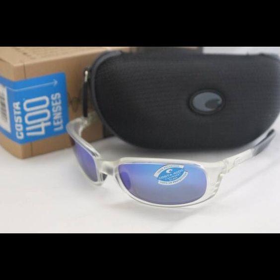 4bb3cd18403ae Costa Del Mar Brine Sunglasses Crystal   400G Blue Brand new in the box Costa  Del