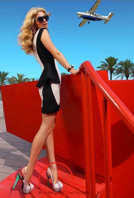 Mais uma de Paris Hilton usando um escarpim CS! We love! ️ Foto: Site Magazine Spain. #csnomundo #lovecs #parisdecs #carmensteffens