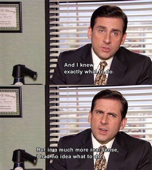 He Always Knew What To Do The Office Show Michael Scott Quotes Office Humor