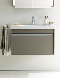 Great Ideas For Bathroom Decorations Small Mirror For Bathroom Walls In India Round Tile Floor Bathroom Cost Delta Bathroom Sink Faucet Parts Diagram Young Master Bath Showers BlueBathroom Paint Color Idea Duravit Ketho 500mm Single Drawer Vanity Unit With 530mm Basin ..