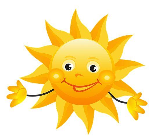 Słonko, Słoneczko, Słońce, Żółte, Lato