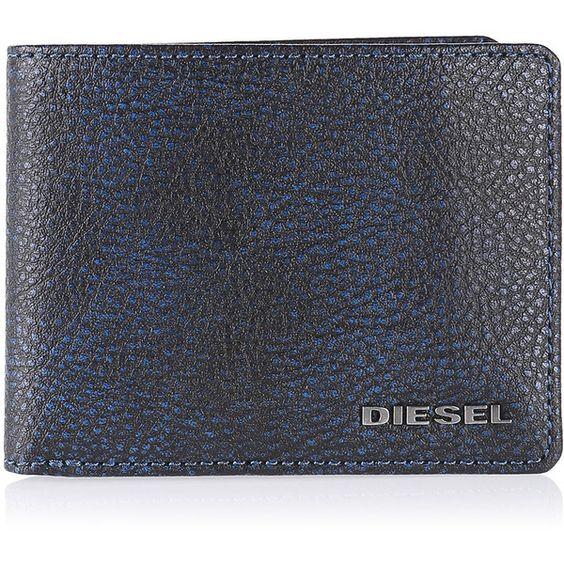 Diesel NEELA XS Wallets ($85) ❤ liked on Polyvore featuring men's fashion, men's bags, men's wallets, blue, men and wallets