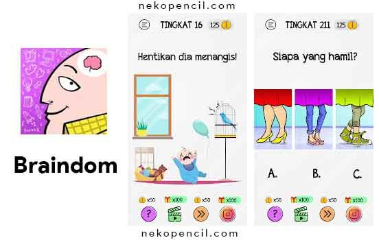 Berikut Kunci Jawaban Braindom Lengkap Terbaru Mulai Dari Level 1 Hingga Level 225 Dengan Bahasa Indonesia Dan Cara Yang Mudah Pengikut Bahasa Indonesia Kunci
