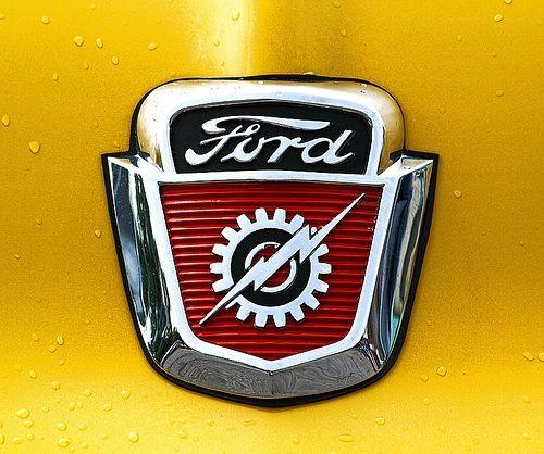 & 50u0027s Ford Hood Emblem   Ford   Pinterest   Ford Hoods and Ford trucks markmcfarlin.com