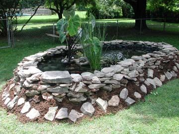 Backyard Turtle Ponds Usually Aren 39 T As Pretty As Fish Ponds You Have To Build Up The Sides Of