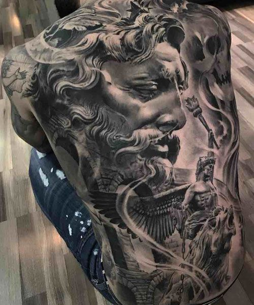 125 Best Back Tattoos For Men Cool Ideas Designs 2020 Guide Back Tattoos For Guys Cool Back Tattoos Full Back Tattoos
