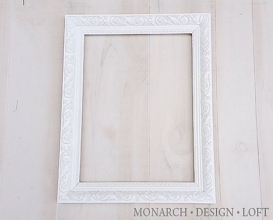 12x16 large white frame ornate shabby chic ideas white frames and large white. Black Bedroom Furniture Sets. Home Design Ideas
