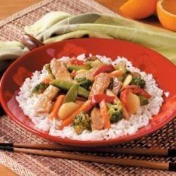 Orange Pork Stir Fry Allrecipes.com