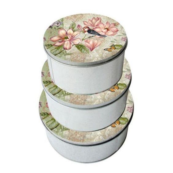 Die Dekobox mit hübschen Blüten macht Lust auf den Frühling!