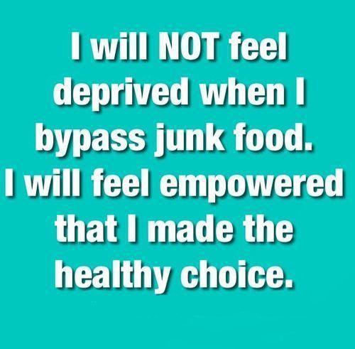 21 days no junk food challenge | Africagirlsrun