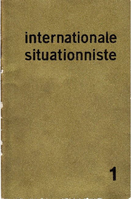 UbuWeb Historical - Internationale situationniste (1958-1969)