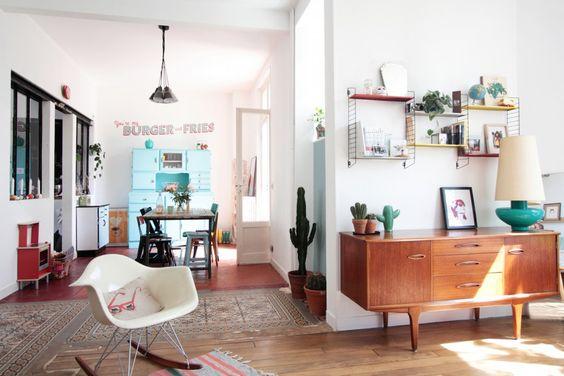 Si queréis convertir vuestra casa en un museo vintage y retro ¡no perdáis detalle!. Todos los muebles y decoración de la casa de Celine del blog La Malle a