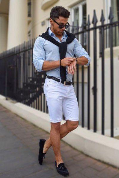 Comment bien porter un short homme cet été