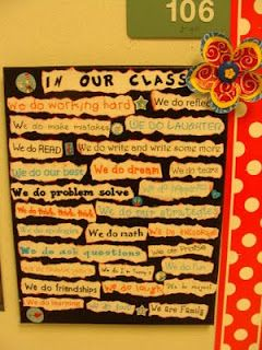 Saylor's Log: beginning of school. rules