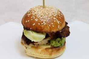 Burger au poisson croustillant par Alain Ducasse