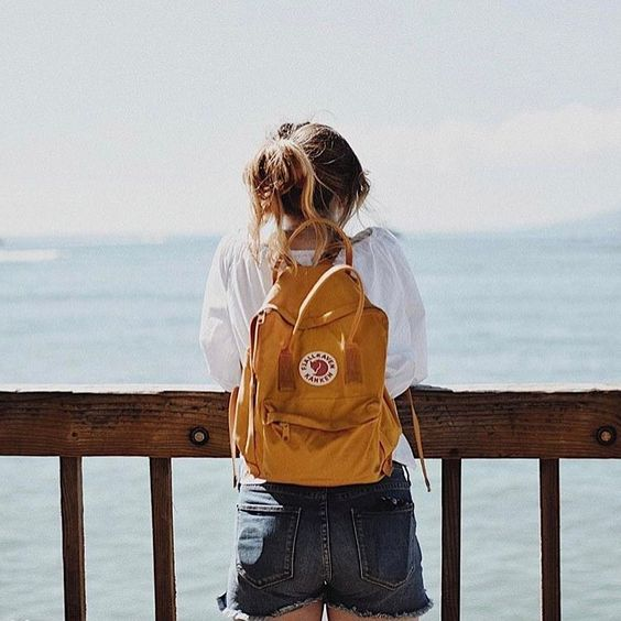 Gingerly Witty linkfest backpack yellow