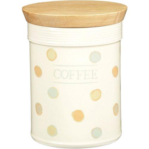 Pote Coffee com Tampa de Madeira