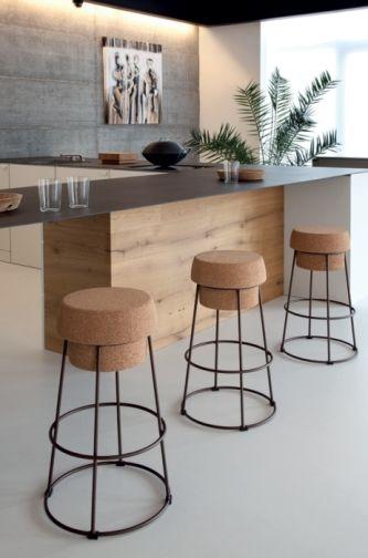 chaises de cuisine liege. Black Bedroom Furniture Sets. Home Design Ideas