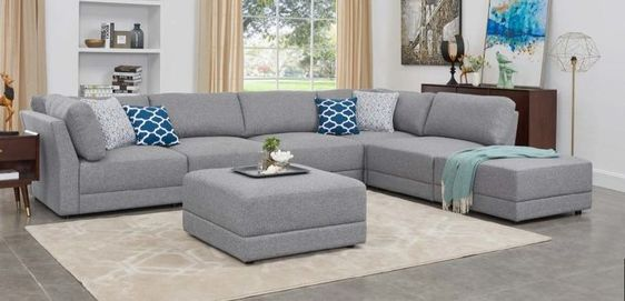 OaH ARMLESS CHAIR ONLY! Sectional   Item# 11711