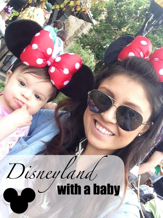 Bianca Lively: Disneyland With A Baby