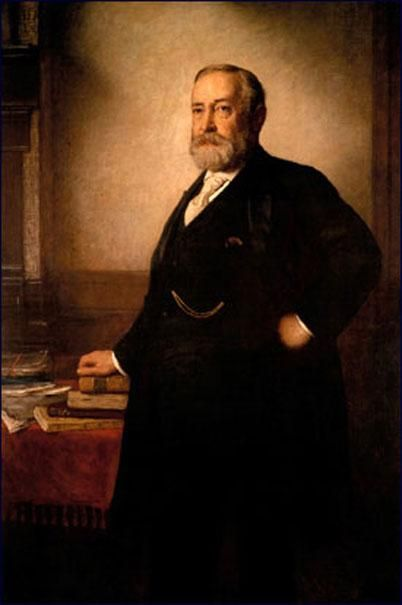 Official White House Portrait of Benjamin Harrison - 23rd President of the United States
