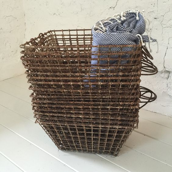 A personal favourite from my Etsy shop https://www.etsy.com/uk/listing/268405504/french-vintage-oyster-basket-from-la