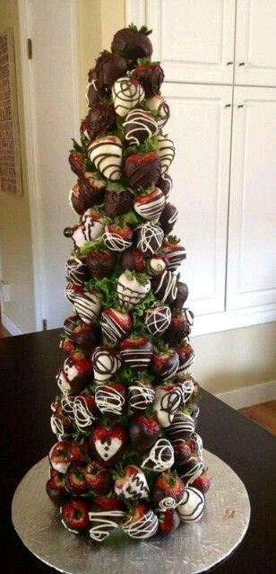 Chocolate Starwberries ♥
