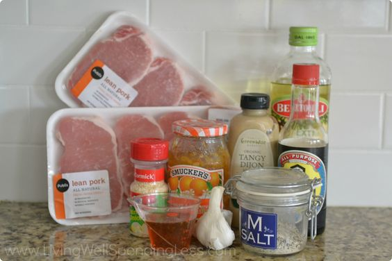 Orange Glazed Pork Chops 1 – Living Well Spending Less™