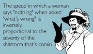 things men should know...