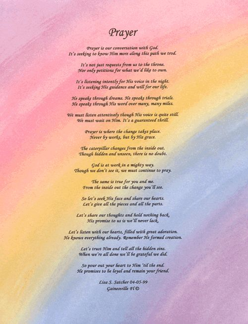 Christian Poems About Women | Inspirational Religious ...
