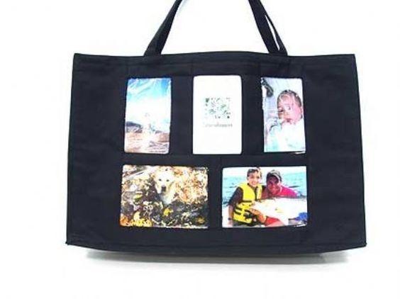 Wholesale Lot 10 Bags Large Photo Pocket Tote Purse