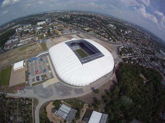The City Stadium in Poznań / UEFA Euro 2012 Poland & Ukraine / Stadion Miejski w Poznaniu  #uefa #euro2012 #poznan