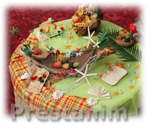 ... thème exotique mariage lea mariage anais decoration antillaise faire