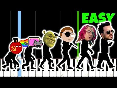 Evolution Of Meme Music 1500 2018 And How To Play It Youtube Memes Learn Piano Music