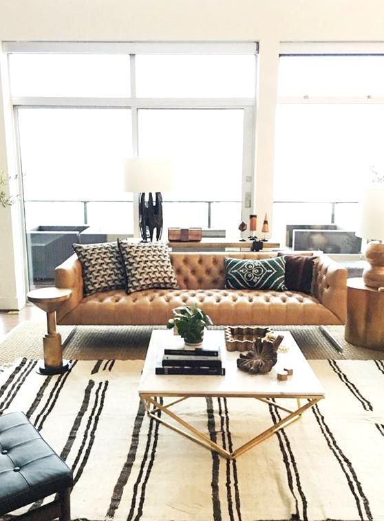 Sven Charme Tan Sofa Leather Couches Living Room Interior Design Living Room Leather Sofa Living Room