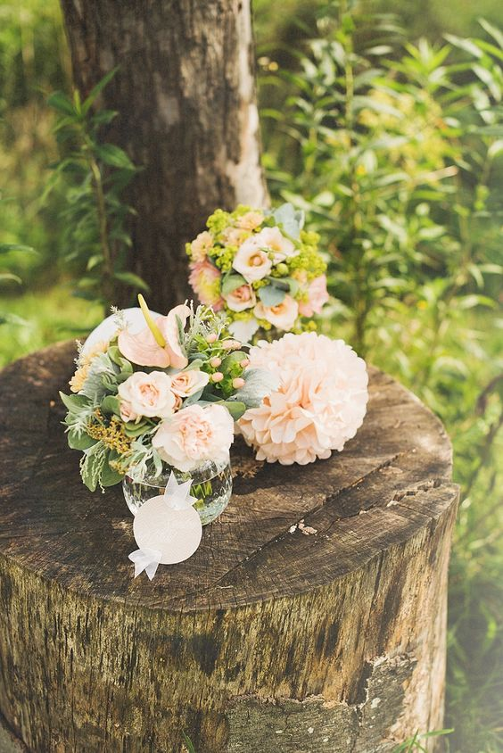 Brautstrauß pastellfarben von Hellbunt Events | Hochzeitsblog - The Little Wedding Corner