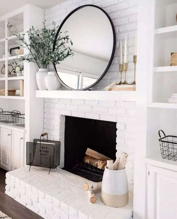 86 Unique Modern Living Room With Mirror Ideas for Your Home #modernlivingroom #mirrorlivingroom #livingroomideas ~ aacmm.com