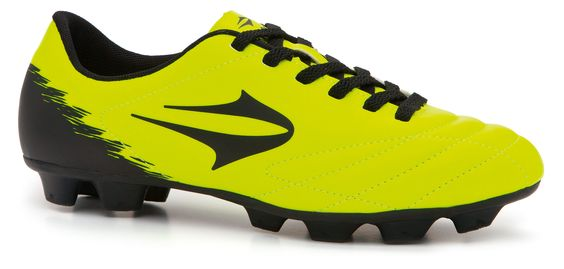 2015 Chuteira Topper campo Slick III amarelo neon/preto