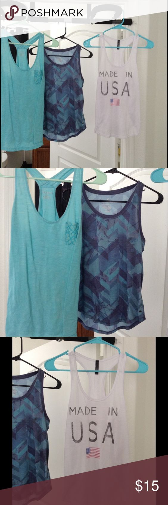 Tank tops All size small. In good condition. From American eagle, Tillys, and target.  You get all 3 American Eagle Outfitters Tops Tank Tops